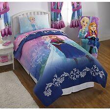 Disney Frozen Nordic Frost Anna & Elsa Reversible Princess Comforter (TWIN/FULL)