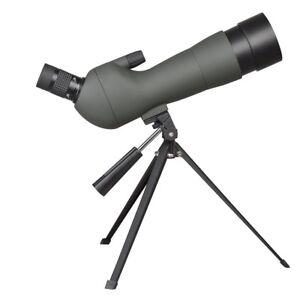 20-60x Zoom Spotting Scope 60mm Monocular Birdwatching Telescope Tripod with Bag 657258018730
