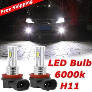 2X 80W H11//H8 High Power LED Fog Driving Lights DRL Lamp Bulbs Super White