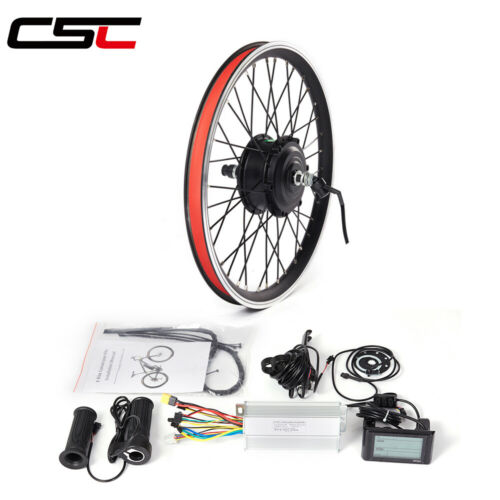 ebike Conversion Kit 36V 48V 250W 500W 1000W 1500W Motor bike Wheel 20-29in 700C