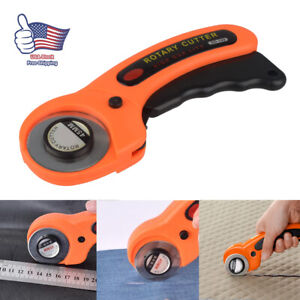 Rotary-Cutter-with-45mm-Blades-Sewing-Quilters-Fabric-Cutting-Leather-Paper-Tool