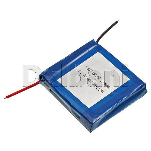 29-16-0058 Lithium Battery 3.7V 2800mAh 49.83x48.42x10.3mm 1.843oz