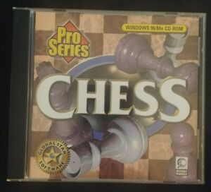 Chess-Pro-Series-PC-Game-CD-Rom-Windows-98-Rare-Global-Star-Software-Tested