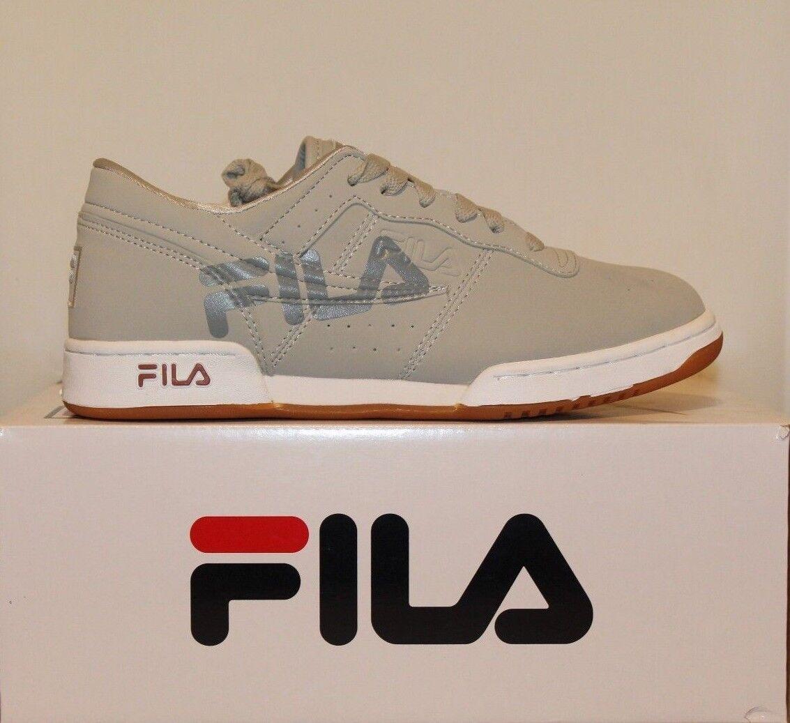 Mens Fila ORIGINAL FITNESS LOGO Retro Athletic shoes Vblue white gum 1FM00075-07