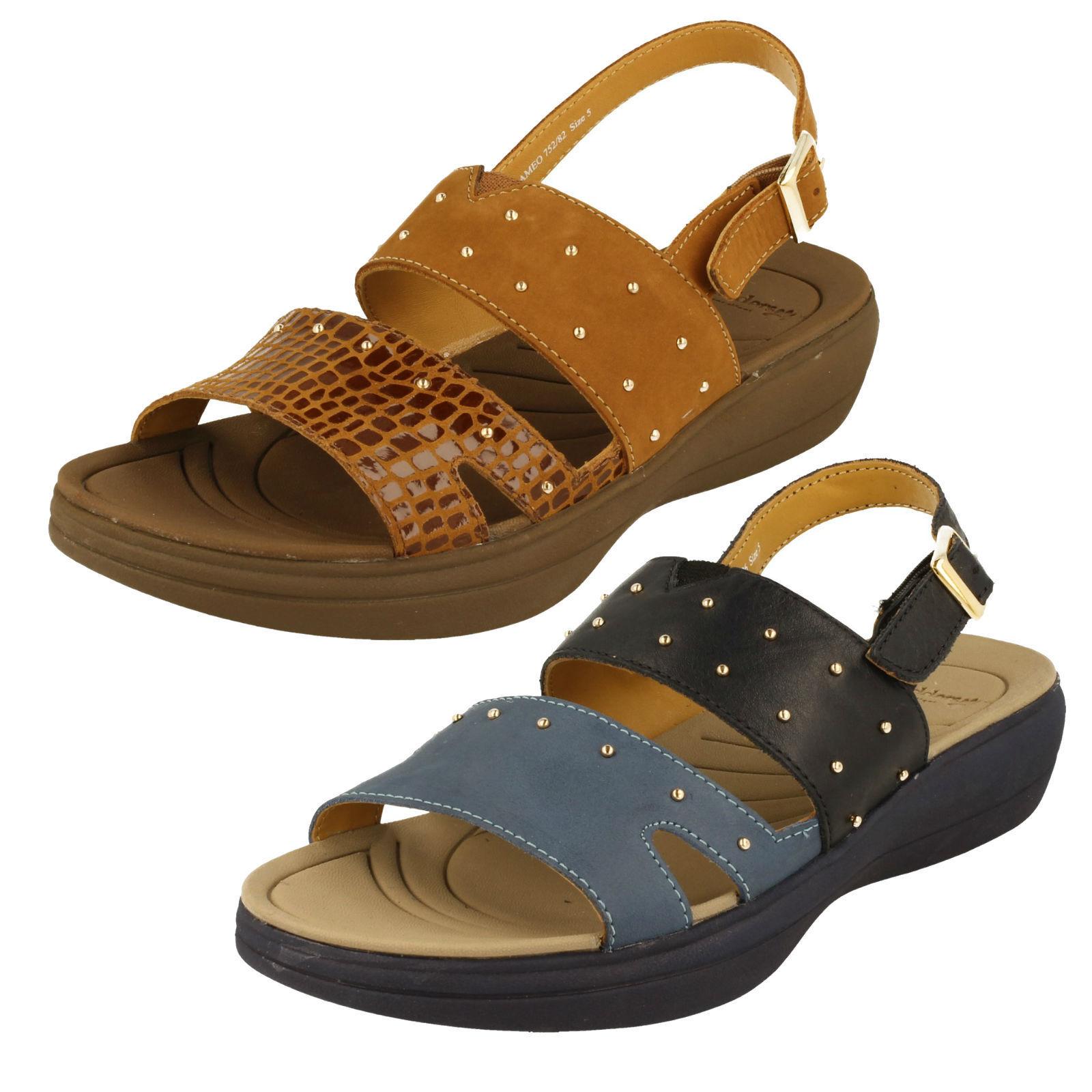 Damen Padders Sandale -Cameo Günstige und gute Schuhe