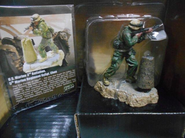 FORCES OF VALOR BAGHDAD 2003 GUNNERY US MARINES 3 BAT 5 REG #89007 UNIMAX 1:32