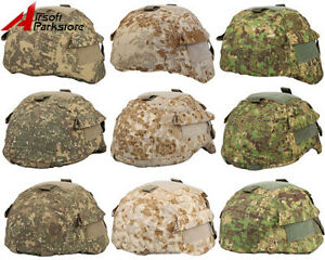 Tactical-Military-Airsoft-Hunting-Camo-Helmet-Cover-for-MICH-2000-2001-2002-ACH