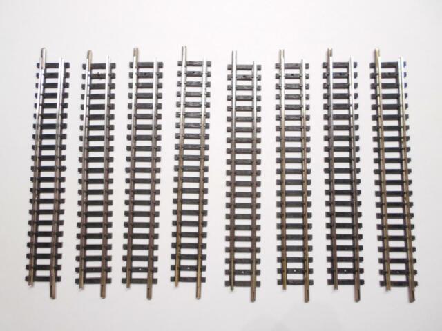 MINITRIX 14904 / 4904 ger. Gleis 104,2mm 8 Stück (41505)