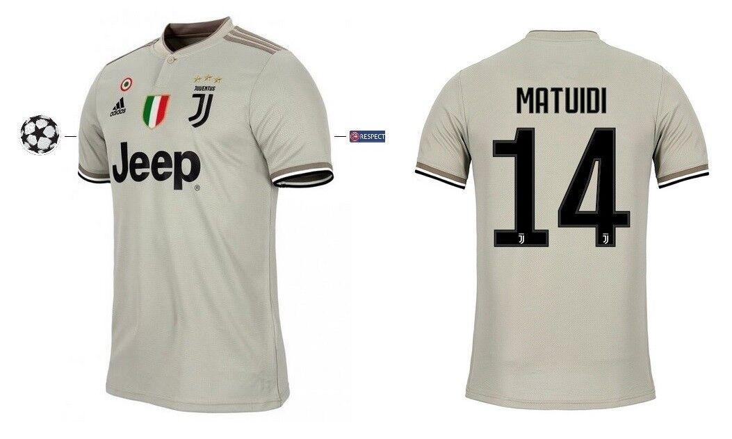 Trikot Adidas Juventus 2018-2019 2018-2019 2018-2019 Away UCL - Matuidi 14   Champions League 8c64ab
