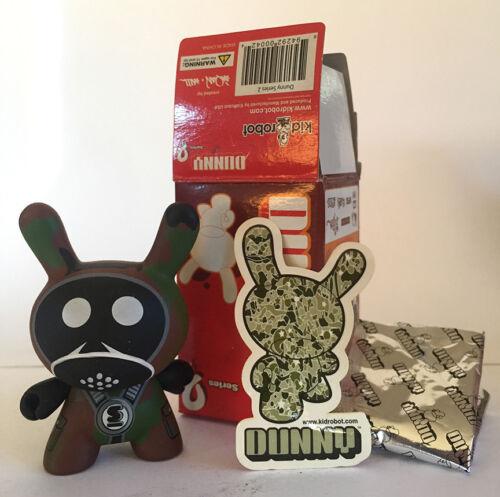 Dunny Series 2 Sket One Camo Kidrobot