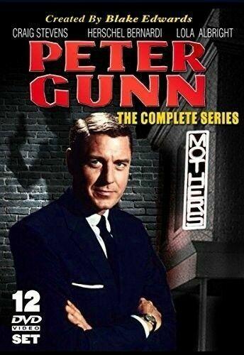 Peter Gunn Season 1 3 Complete Tv Series Dvd Set 114 Episodes For Sale Online Ebay