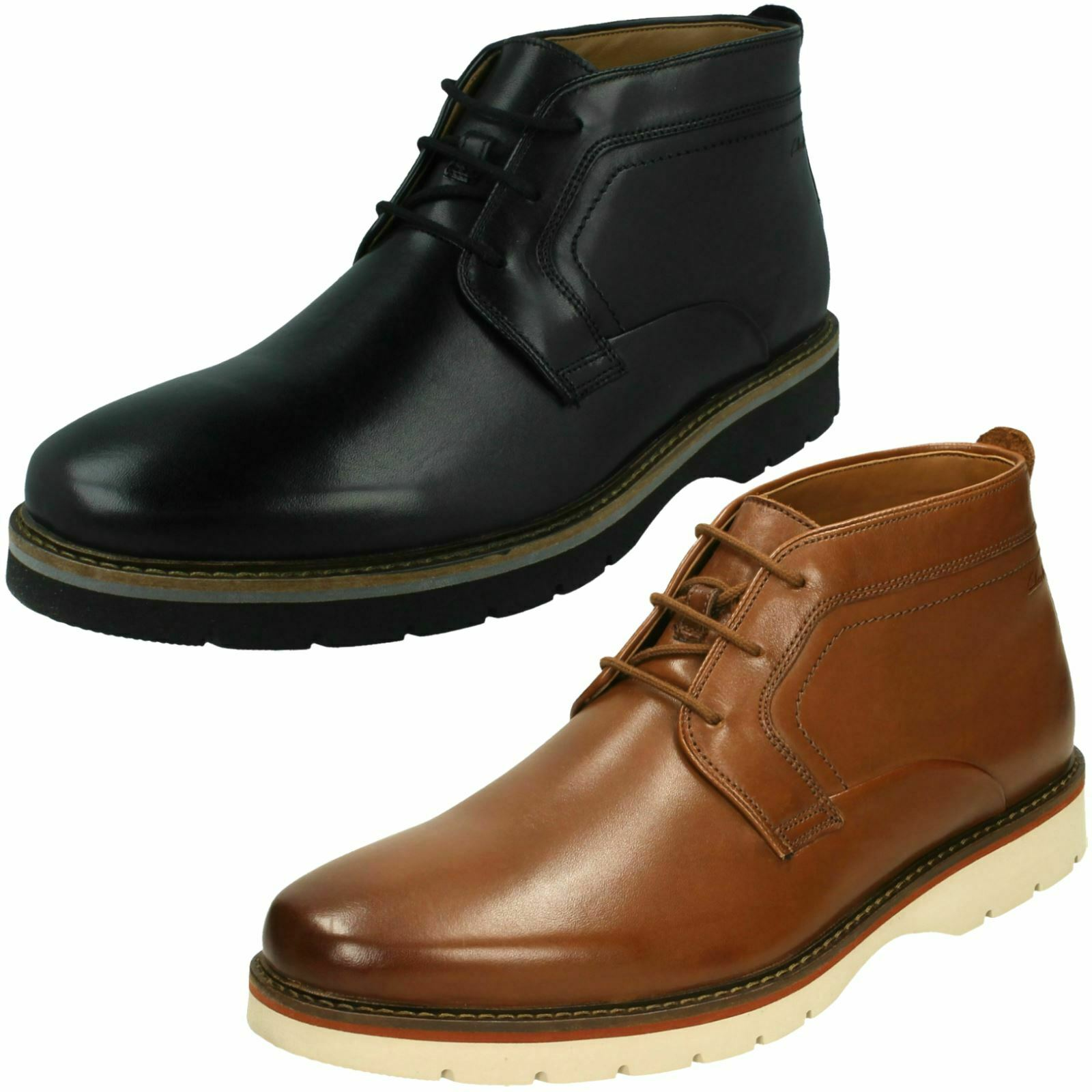 Mens Clarks Casual Ankle Boots