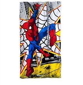 Disney-Store-Spiderman-Beach-Towel-Swim-Spider-Man-Web-Super-Hero-30-X-60-NEW
