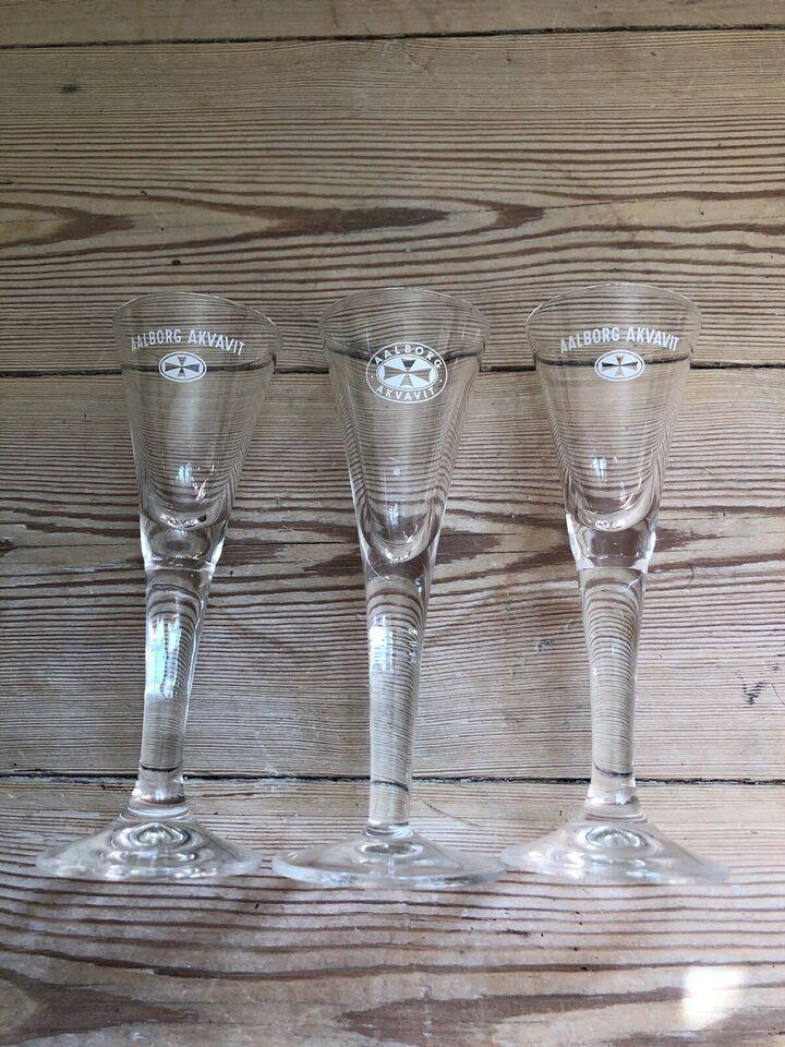 Glas, Snapseglas , Aalborg