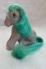 """1983 Vintage My Little Pony """"Seashell"""" Purple with Seashells"""