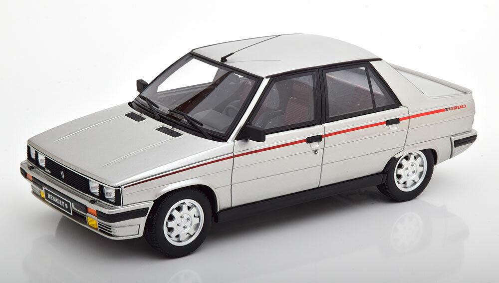 Otto Mobile 1984  Renault 9 Turbo Phase 1 Argent 1 18 Échelle le de 999 Neuf  expédition rapide dans le monde entier