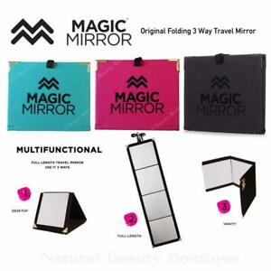 Magic Mirror Multi Functional 3 Way Travel Folding Full
