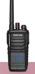 COMTRAK CK PMR SPORT 446 Couleur Black 360009 Canal Radio Réseau Montana