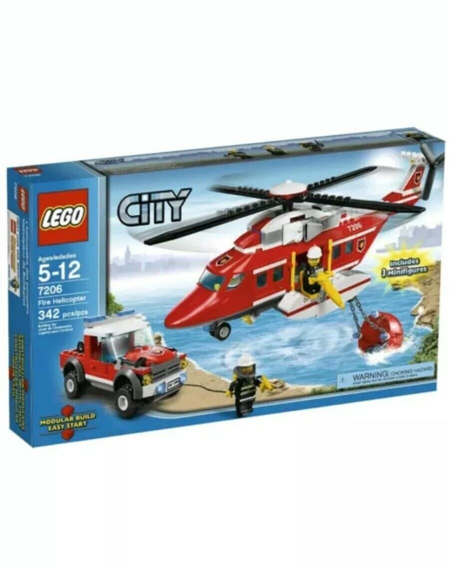 Lego city 7206 Fire Helicopter