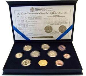 Malta-2013-KMS-1-Cent-bis-2-Euro-mit-2-Euro-Autonomie-mit-Muenzmeisterzeichen