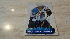 1995-96 Edge Ice Hockey #115 Jock Callender - Cleveland Lumberjacks IHL - NRMT