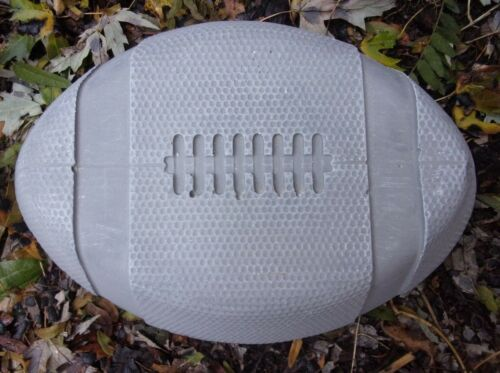 """Football mold 12/"""" x 8/"""" x 2/"""" thick  plaster concrete casting mould"""