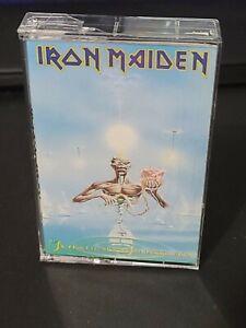 IRON MAIDEN Seventh Son Of A Seventh Son CASSETTE TAPE 1988 EMI c7