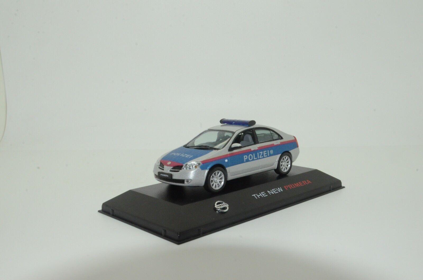 Rara Nissan Primera Austria policía Polizei el nuevo hecho a medida 1 43