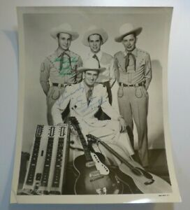 Rare-Vintage-ERNEST-TUBBS-Hand-Signed-AUTOGRAPH-Country-Western-PHOTO
