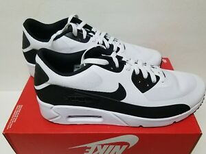 Details about NIKE AIR MAX 90 ULTRA 2.0 ESSENTIAL Size 12.5 RUNNING WHITEBLACK (875695 100)