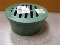 1 Piece Nds 3 Green Round Structural Foam Polyolefin Grate Free Ship Box A-20