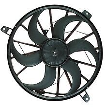 Dual Radiator and Condenser Fan Assembly APDI fits 99-03 Jeep Grand Cherokee