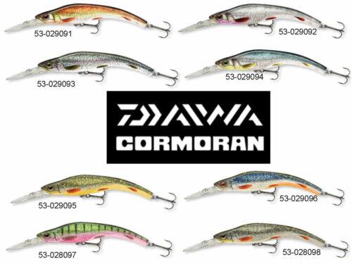 Team Cormoran Miniwatu DD deep divier Wobbler 12cm Länge verschiedene Farben