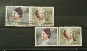 Canada-1985-womens-rights-activists-mint-amp-used-pairs