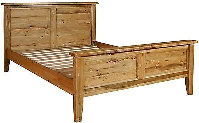 Rumi solid OAK new bedroom furniture king size BED