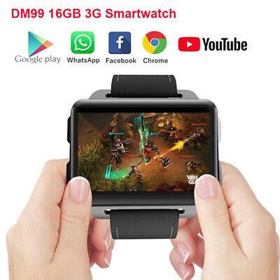 Smart Watch Android 5 1 2 2inch Big Screen 3g Gsm Wifi Gps Sim 16gb Smartwatch Ebay