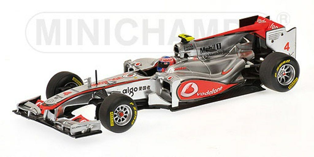 MINICHAMPS 530 114373 & 114374 McLAREN F1 Showcars 2011 Hamilton   Button 1 43rd