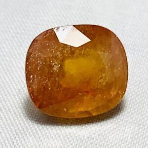 Genuine-Large-Orange-Coloured-Antique-Sapphire-10-01ct-0-1-2x0-7-16in
