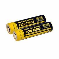 Nitecore Ni18650d Two Rechargeable 18650 Batteries For Nitecore Tm03