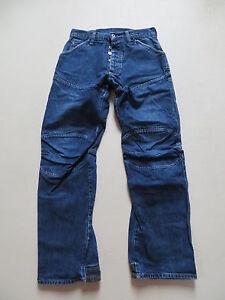 G-Star-SHORTCUT-ELWOOD-Jeans-Hose-W-29-L-32-robuster-Vintage-Denim-Workpant