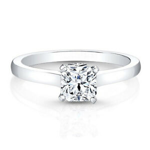 0-60-Ct-Diamond-Engagement-Ring-14K-Solid-White-Gold-Wedding-Rings-Size-5-6-7-8