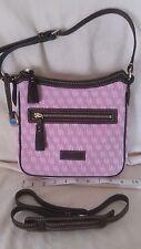 Dooney & Bourke pink adjustable Crossbody Handbag