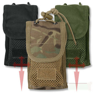 Iphone Ipod MP3 Player Mobile Phone Pouch Case Molle Airsoft Military Hiking SAS