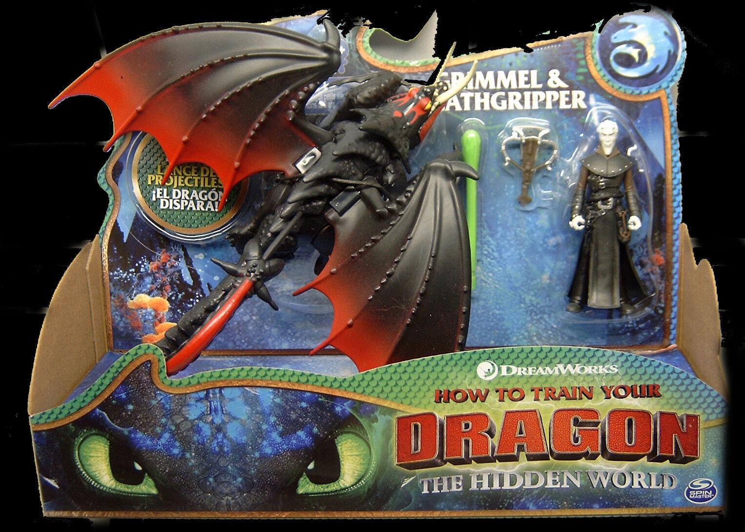 Dragons 3 - Hidden World - Die geheime Welt - Grimmel & Deathgripper NEU/OVP