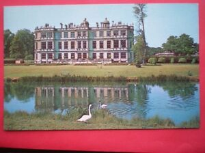 POSTCARD-WILTSHIRE-LONGLEAT-THE-EAST-FRONT