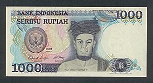 Bank-Note-Banknote-Indonesia-1000-Rupiah-seribu-1987-no-uet07729-erh-I-g6-84