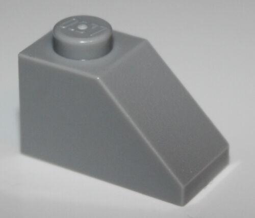 Lego 12x Light Bluish Gray Slope 45 2 x 1 NEW