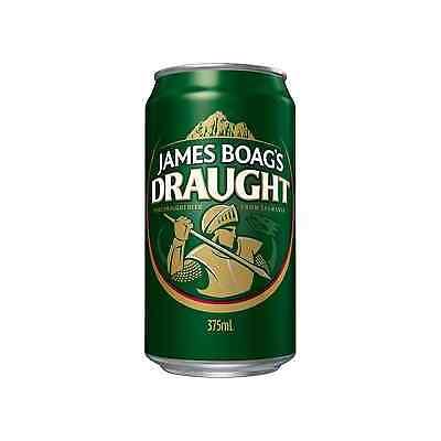 James Boag's Draught Cans 30 Block 375mL case of 30 Australian Beer Lager