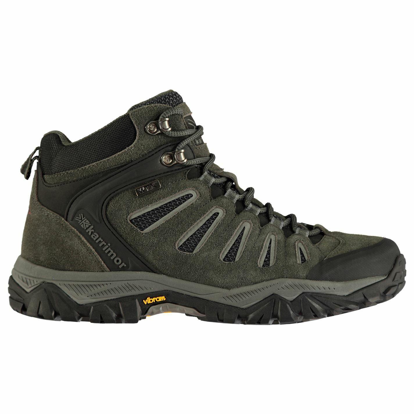 Karrimor Karrimor Karrimor Wildcat Mid zapatos Marche hombres negros 3dff7c