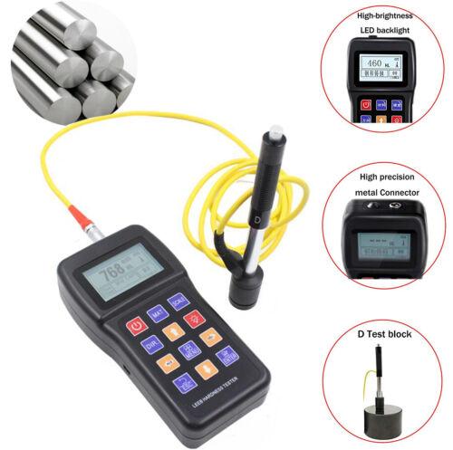 Metal Leeb Hardness Tester Meter 170 to 960 HLD Durometer Tester HL HB HRB HRC